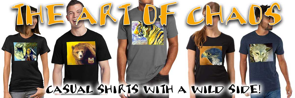 Wild Tees featuring Exotic Animals